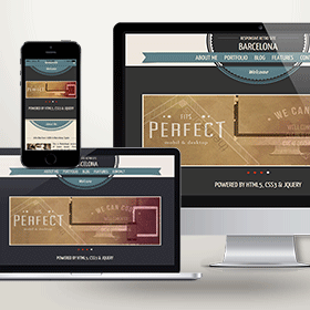portfolio thump website template wordpress retro